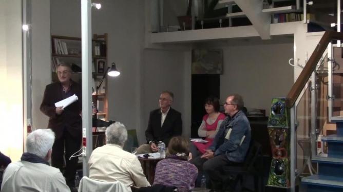 Francis Combes présente ses invités
