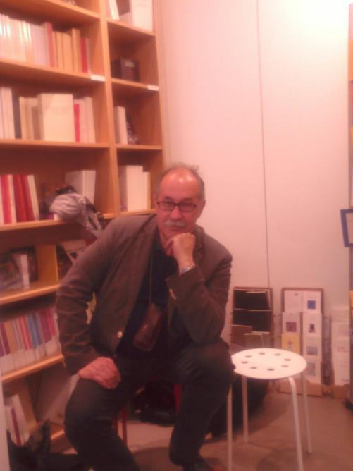 11 mai, Marko Sosič, lecture à la librairie L'Autre Livre, Paris