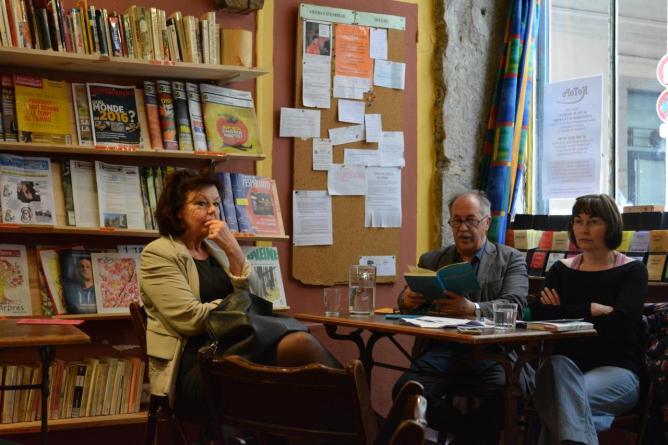10 mai, Marko Sosič, lecture à KoToPo, Lyon