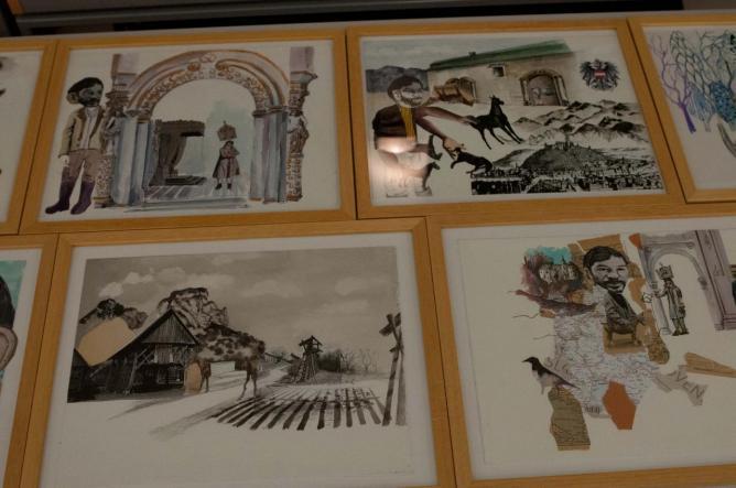 Exposition des planches ayant servi à illustrer « Kœurpane »