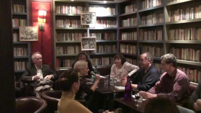 Marko Sosič dialogue avec l'écrivaine Brina Svit