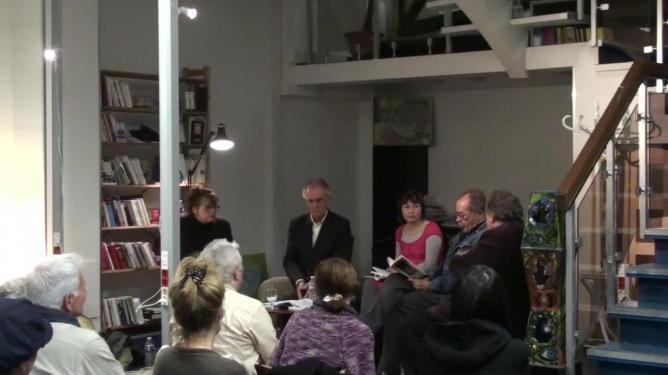 Marko Sosič lit un extrait de « Balerina, Balerina » en slovène