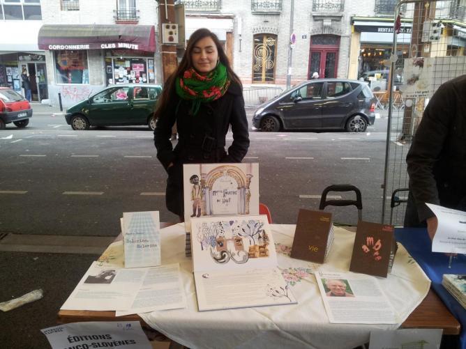 11 avril, Salon Montreuil-sur-Livres, Anastasia Tchoukaev