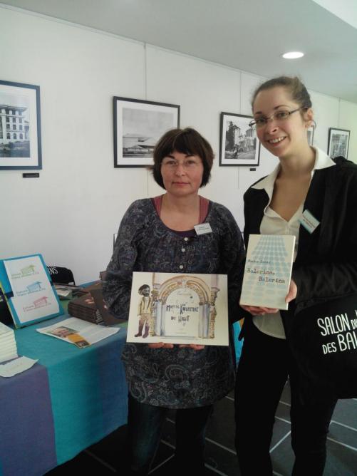 10 et 11 avril, Salon du livre des Balkans, avec la présidente du jury