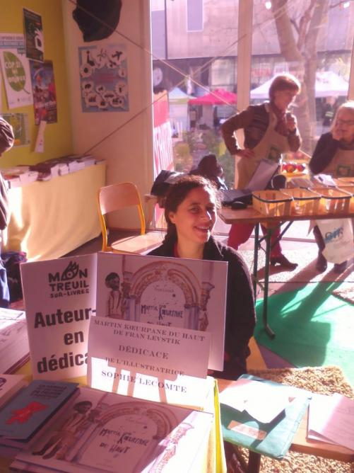6 décembre, sommet sur le climat à Montreuil, signature Sophie Lecomte