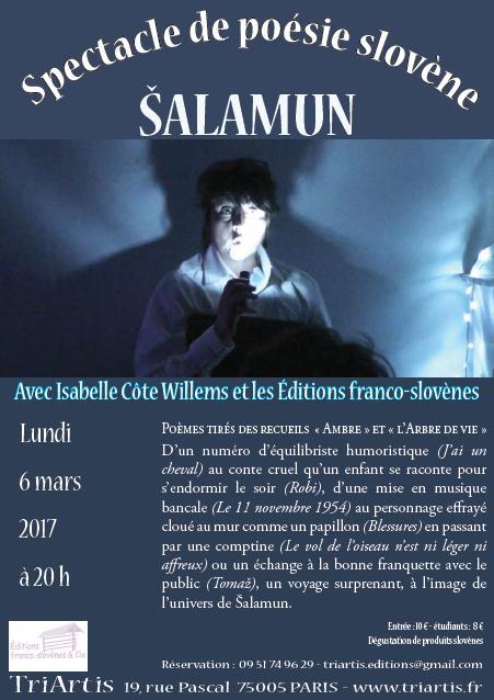 Affiche salamun 6 mars 2017